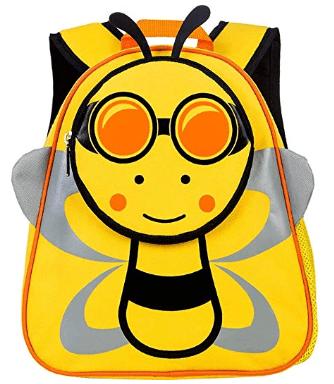 "Amazon : Toddler Backpack, 12"" Bee Preschool Bag Just $8.75-8.81 W/Code (Reg : $32.99) (As of 8/3/2019 7.19 PM CDT)"