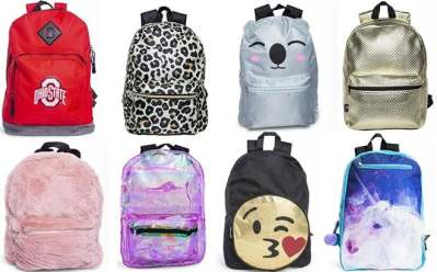 Backpacks Just $5 – So Many Designs!