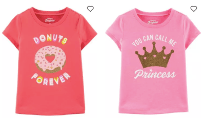 Carter's : Buy One, Get 2 Free Kids Apparel Sale + Free Shipping! From As Low As $4 Shipped!
