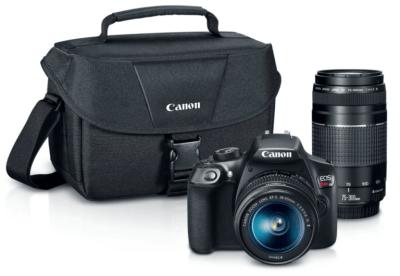 Kohl's : Canon DSLR Camera Kit Just $341 (Reg $750!)