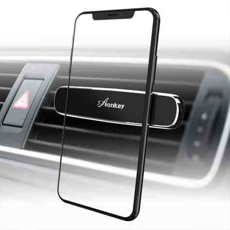 Magnetic Phone Car Mount for $4.80 w/code