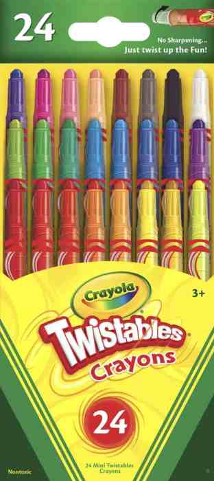 Crayola Mini Twistables Crayons, 24 Pack for $3.99 Shipped! (Reg. Price $5.99)