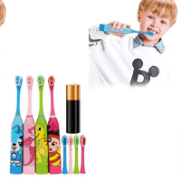 Amazon : 4 Color Children Portable Cute Cartoon Battery Type Soft Brush Just $4.66 W/Code (Reg : $23.30) (As of 8/21/2019 9.43 AM CDT)