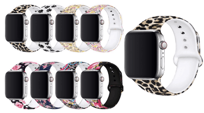 Amazon : 8 Colors Floral Bands Compatible with Apple Watch Band Just $14.99 W/Code (Reg : $29.99) (As of 8/17/2019 3.25 AM CDT)
