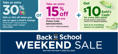 Kohl's Shoppers | Up to 40% Off Your Entire Purchase (Check Your Inbox)