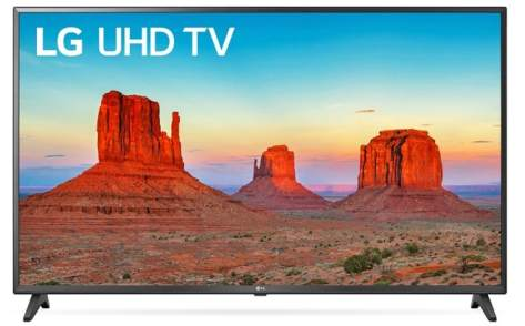 LG 43-Inch 4K Ultra HD Smart LED TV for JUST $199 + FREE Shipping (Reg $348)