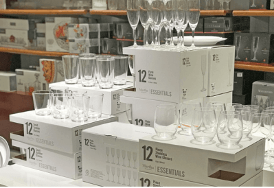Martha Stewart 12-Piece Glassware Sets for ONLY $9.99 + FREE Shipping (Reg $30)