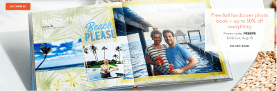 FREE 8x8 Shutterfly Photo Book (Just Pay Shipping)
