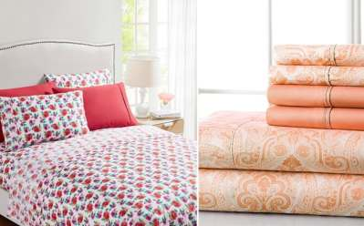 All Sizes 6-Piece Sheet Set For ONLY $16.99 at Zulily – Many Designs Available!