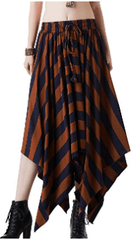 Amazon : Women's Boho Palazzo Cotton Wide Leg Long Bohemian Asymmetric Pants Plus Size Ruffle Skirt Just $12.26 W/Code (Reg : $24.52) (As of 8/24/2019 12.53 PM CDT)