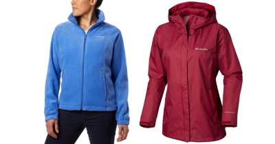 Up to 70% Off Columbia Men's & Women's Jackets + FREE Shipping!!
