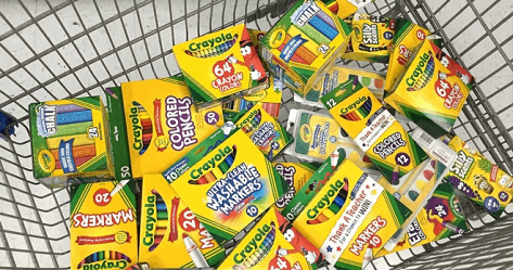 Up to 70% Off Crayola at Amazon (Starting at JUST $3.89) – Today Only!