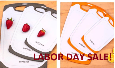 Set of 3 Poly Cutting Boards for $12.79 (reg: $26.99) w/code