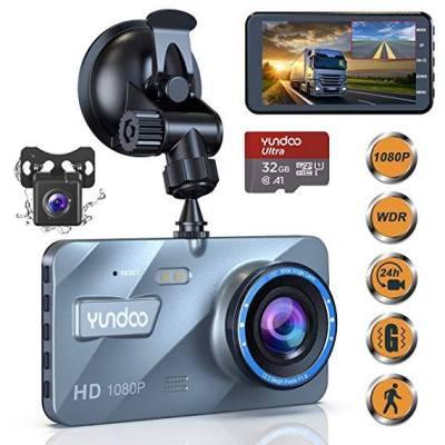 Dual Dash Cam Car Camera - Contain 32GB SD Card,Full HD 1080P Dash Camera for Cars for $37.89 w/code