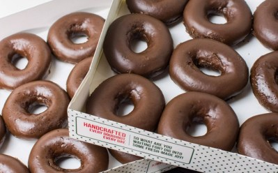 Krispy Kreme Chocolate Glazed Doughnuts ONLY $5 with Dozen Purchase (Today Only)