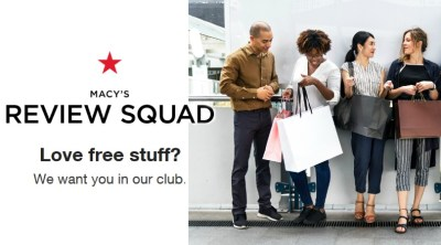 Macy's: Possible FREE Product Testing