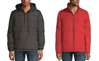 Jcpenney : Men's Arizona Puffer Jackets Just $13.19 (Reg : $88) + FREE Pickup – Today Only!