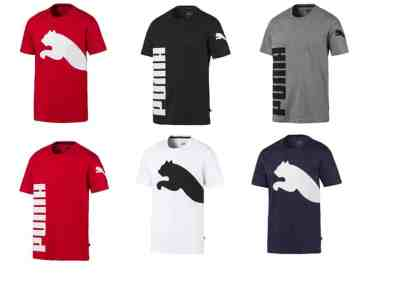 Puma Men's Big Logo Men's Tee for $7.99 (Reg $25.00)