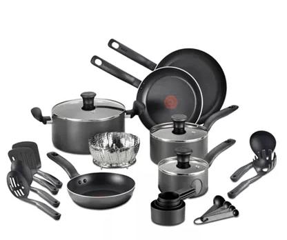 18-Pc. Nonstick Cookware Set for $49.99 (reg: $99)