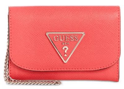 Macy's : GUESS Carys Double Date Wallet Just $16.80 W/Code (Reg : $40)