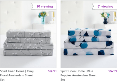 Zulily : 4-Piece Sheet Sets Just $14.99 !