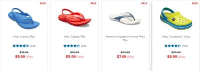 Crocs : 70% Off Sale!!