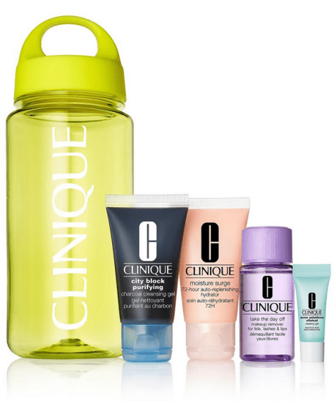 Clinique 5-Pc. Back To School Supplies Set for  $13.50 (Reg $22.50) w/code