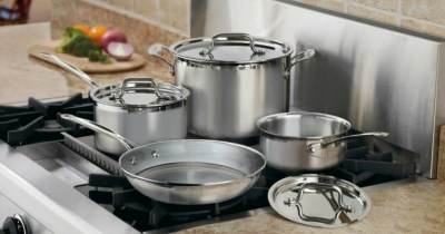 Cuisinart MultiClad Pro Stainless Steel Cookware Sets as Low as $86.44 Shipped (Regularly $133)