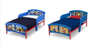 Walmart : Disney Mickey Mouse Plastic Toddler Bed, Multiple Characters Just $38.87 (Reg : $64.99)