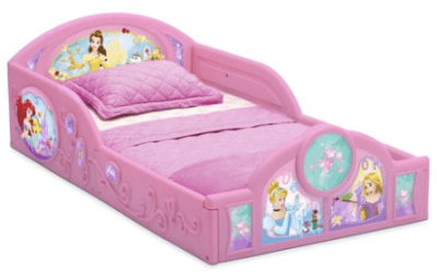 Walmart : Disney Princess Plastic Sleep and Play Toddler Bed Just $38.87 (Reg : $59.99)