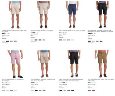 JoS.A.Bank Shorts for just $10 (reg: $79.50)