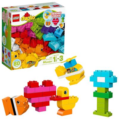 Amazon : 80 Pcs LEGO Duplo My First Bricks Just $12.99 (Reg : $22.99) (As of 9/18/2019 8.14 PM CDT)