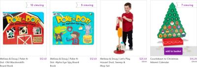Zulily : Melissa & Doug Toys On Sale + FREE Shipping!!