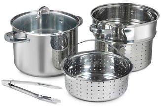 8-Qt. Multi-Cooker 5-Pc. Set  for $27.93 (Reg:$79.99) + Free Shipping