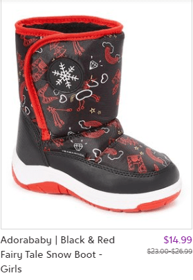 Zulily : Snow Boots Just Starting at $14.99 !
