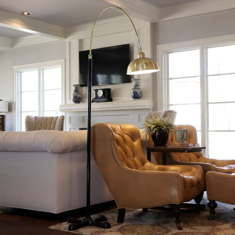 Arched Floor Lamp for $43(reg: $224.99)