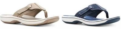 Macy's : Clarks Women's Brinkley Sail Flip-Flops Just $24.93 (Reg : $50)