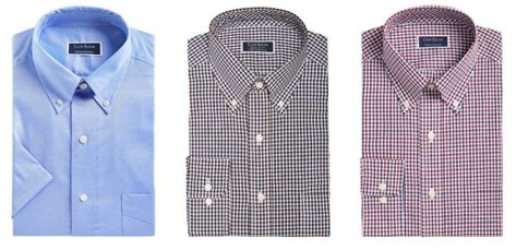 Men's Club Room Dress Shirts $19.99 + FREE Pickup at Macy's (Reg $55) – Today Only!