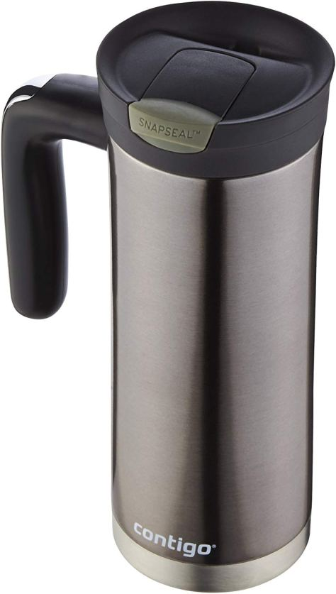 Contigo SNAPSEAL Superior Stainless Steel Travel Mug with Handle, 20 oz. for $9.99