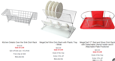 Macy's : Dish Drying Rack From $6.99!