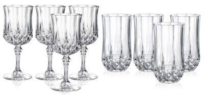 Longchamp Glassware Sets for JUST $9.99 + FREE Pickup at Macy's (Reg $30)