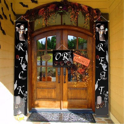 Halloween Trick or Treat Banner Outdoor for $7.49 w/code