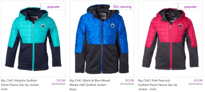 Kids' Mid-Weight Jackets ONLY $13.99 at Zulily (Regularly $40) – Multiple Colors!