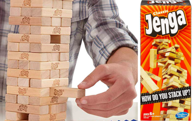 Hasbro Jenga Games Starting at ONLY $3.98 at Amazon, Target, and Walmart (Reg $11)