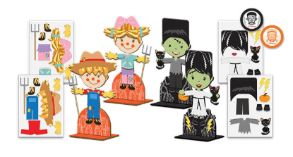 Create Little Harvest Monsters for FREE at JCPenney on October 12th