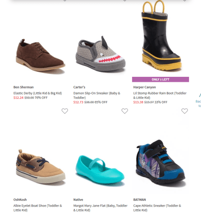 Upto 75% Off on Boys Footwear