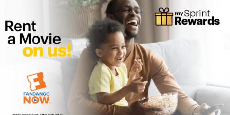 Sprint Customers: FREE FandangoNOW Movie Rental