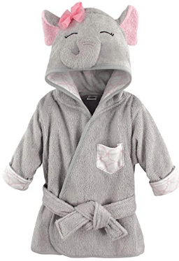 Amazon : Baby Animal Face Hooded Bathrobe Just $6 (Reg : $13.99) (As of 10/17/2019 2.56 PM CDT)