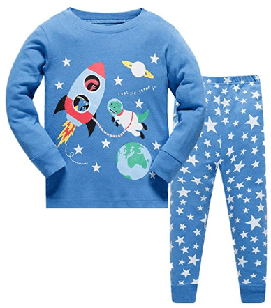 Amazon : Boys Pajamas Winter Outfits Clothes Long Set Pjs Just $8.49 W/Code (Reg : $16.99) (As of 10/13/2019 10.50 AM CDT)