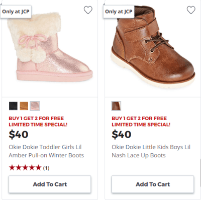 Jcpenney : Buy 1 Get 2 For Free!!